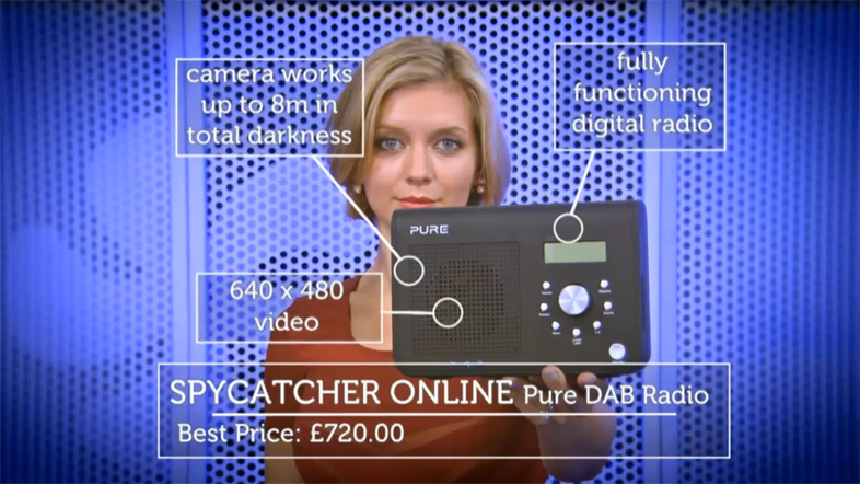 Spycatcher Online Featured on the Gadgets Show