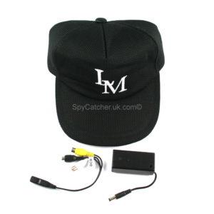 Baseball Cap Camera with Separate Digital Video Recorder H