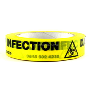 Danger-Of-Infection-Adhesive-Tape