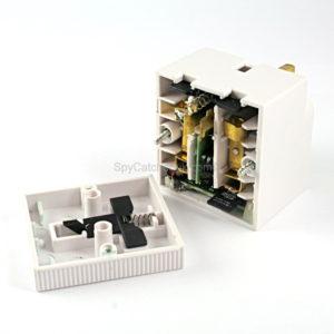 Digital Recorder-13AMP UK Double Adaptor D