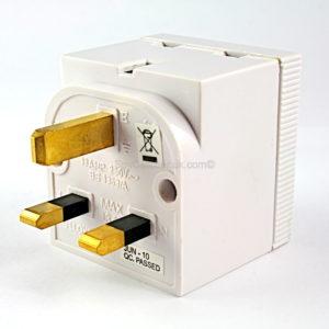 Digital Recorder-13AMP UK Double Adaptor F