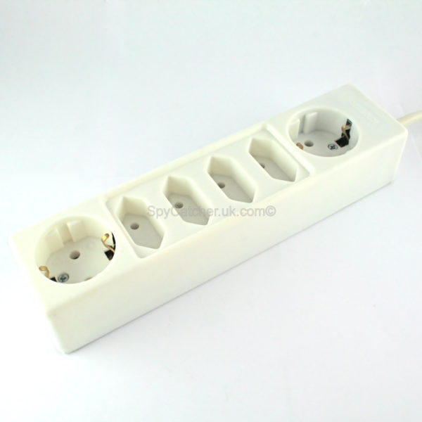 GSM Bug-6 Way European Socket Strip