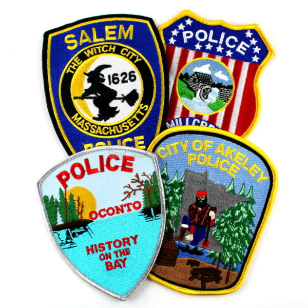 Police Patch Mixed 4