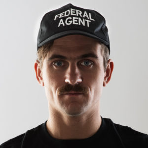 Baseball Cap - Federal Agent-0
