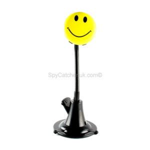 Smiley Face Badge Spy Video Camera F