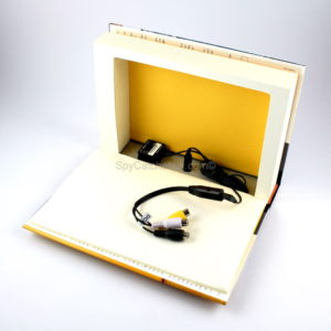 Book Camera with Separate Digital Video Recorder B