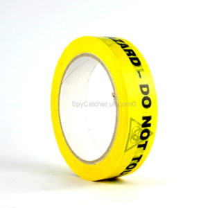 Health Hazard - Do Not Touch Adhesive Warning Tape-5272
