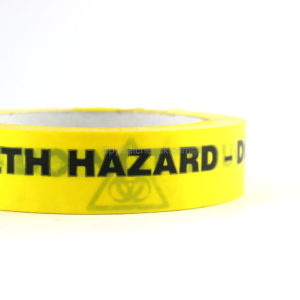 Health Hazard - Do Not Touch Adhesive Warning Tape-5274
