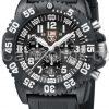 Luminox Black Dial, 3081 Navy SEAL Dive Chronograph
