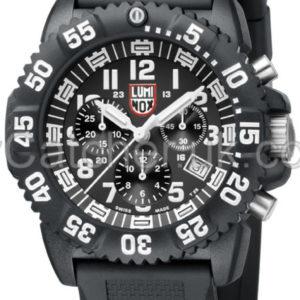 Luminox Black Dial 3081 Navy SEAL Dive Chronograph A