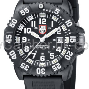 Luminox Black/White Dial 3051 Colormark Dive watch A