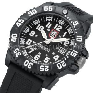 Luminox Black/White Dial 3051 Colormark Dive watch B