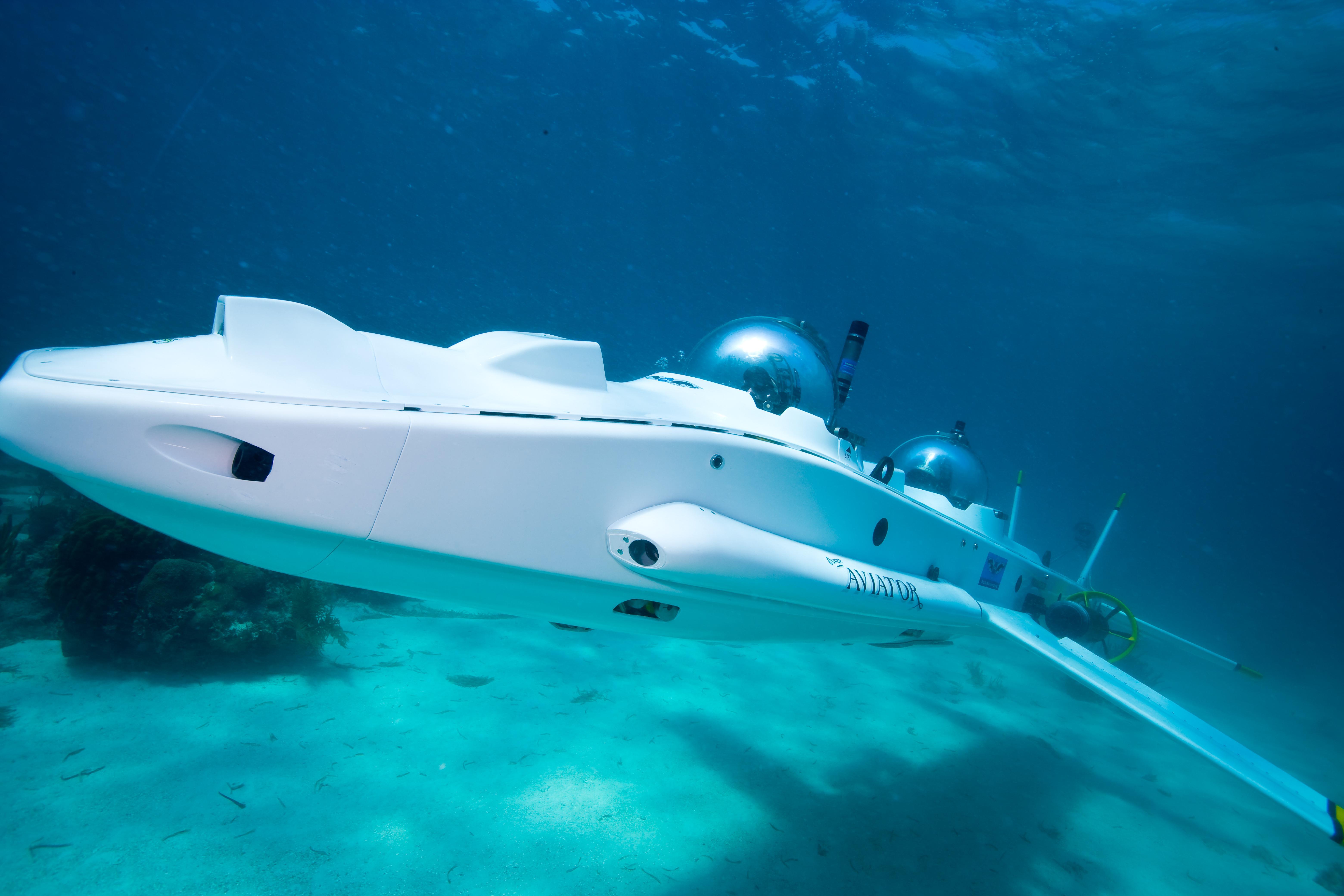Orcasub Two Man Submarine Spycatcher Online