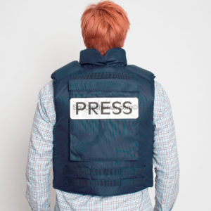 Bullet Proof Press Jacket with Neck & Groin Protection-6757