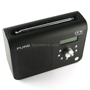 Pure DAB Radio Wifi Camera D