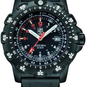 Luminox Black Dial Navigation Watch, 8821km Dive -5385
