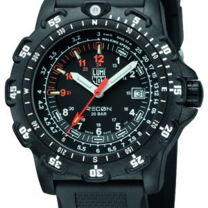 Luminox Black Dial Navigation Watch, 8821km Dive -0