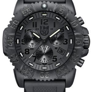 Luminox Black Dial and Face, 3081BO Navy Seal Dive Chronograph-5327