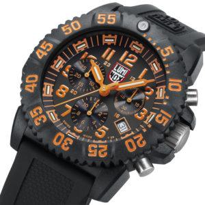 Luminox Orange Dial, 3089 Men's Dive Chronograph Watch-5331