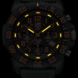 Luminox Orange Dial, 3089 Men's Dive Chronograph Watch-5329