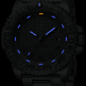 Luminox Black Dial with Steel Strap, 3152-BO Dive Watch-5333
