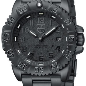 Luminox Black Dial with Steel Strap, 3152-BO Dive Watch-0