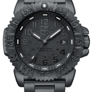 Luminox Black Dial with Steel Strap, 3152-BO Dive Watch-5332