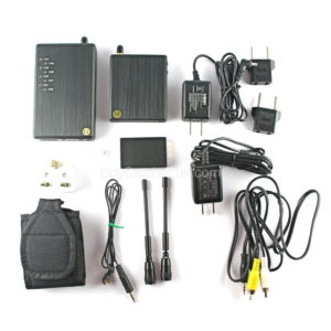 Wireless Transmitter and Receiver Kit for Body Worn Cameras-5583