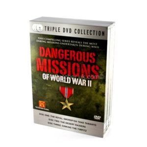 Dangerous Missions of World War II - 3 DVD Box Set-0