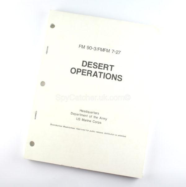 Desert Operations Book - US Marine Corps Manual-0
