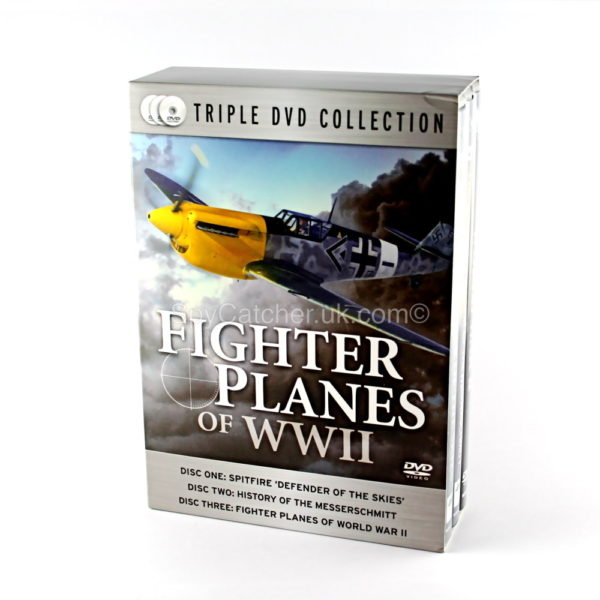 Fighter Planes of World War II - 3 DVD Box Set-0