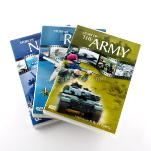 Story of the Armed Forces - 3 DVD Box Set-5600