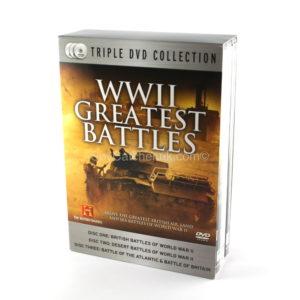 World War II Greatest Battles - 3 DVD Box Set-0