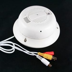 Smoke Detector with Hidden Digital Video Recorder-5861