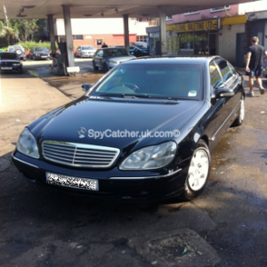 Armoured Mercedes S600-5976
