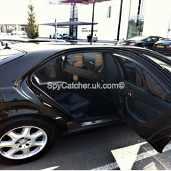 Armoured Mercedes S600-5977