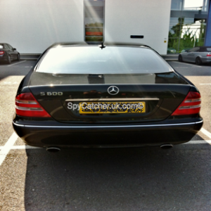 Armoured Mercedes S600-5975