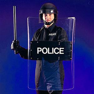 Police Riot Shield-5998