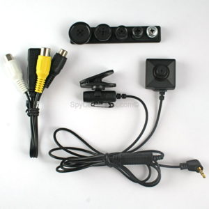 Button-Screw Head Spy Camera with Seperate Digital Video Recorder F