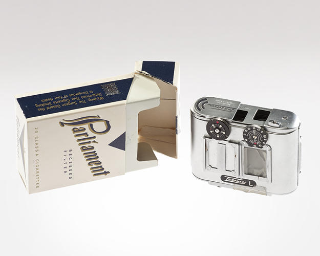 Tessina Camera Concealed in Cigarette Pack