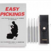 Five Piece Lock Pick Set And Book